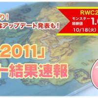 RWC2011結果速報