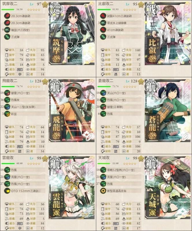 E4第一艦隊